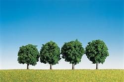 181412 Лиственные деревья 6см (4шт.) - фото 10865