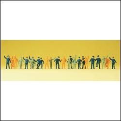 14406 Ж/д персонал, рабочие (24фиг.)  - фото 10918