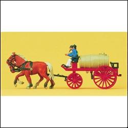 30426 Пожарные с бочкой. 1900-е - фото 10988