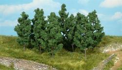 1220 Черный тополь 9см (12шт) деревья  - фото 12000