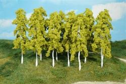 1412 Березы 14см (14шт) деревья - фото 12005