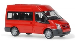 11502 Ford Transit 06 Bus (красный) - фото 12168