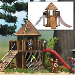 1487 Детская площадка Замок - фото 12316