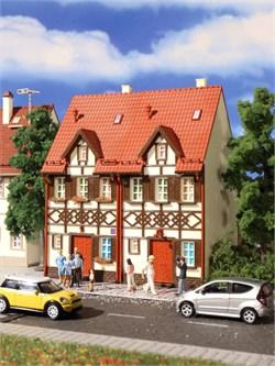 43847 2-хподъездный дом в стиле Фахверк - фото 12484