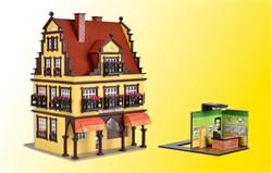 43840 Дом с ювелирным магазином с освещением (романтик-коллекция) - фото 12485
