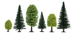 26911 Смешанный лес деревья 50-140мм (10шт.) - фото 12559