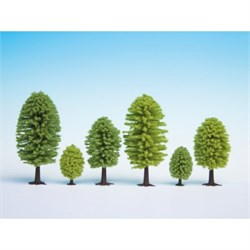 32901 Лиственные деревья 35-50мм 10шт - фото 12565
