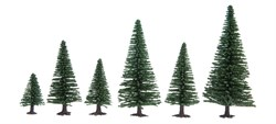 32920 Ели деревья 35-90мм (10шт.)  - фото 12566