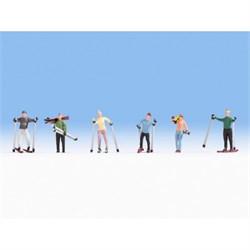15827 Лыжники - фото 12576