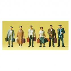 75028 Люди с чемоданами - фото 12641