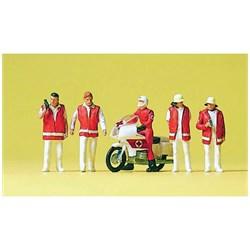 10100 Сотрудники МЧС, мотоцикл   - фото 12660