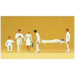 10101 Скорая помощь (врачи,санитары,носилки)   - фото 12661