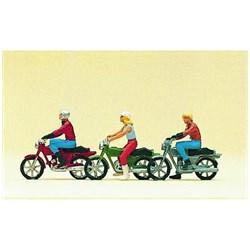 10126 Мотоциклисты, мотоциклы (3+3)  - фото 12669