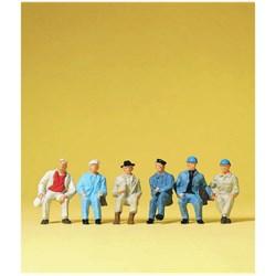 14145 Сидящие рабочие ( без скамеек ) - фото 12701