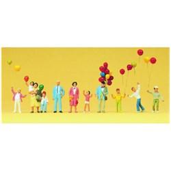 24659 Люди с воздушными шариками  - фото 12725