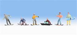 15826 Сноубордисты - фото 12807