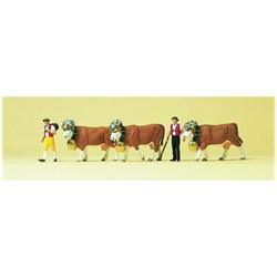 10404 Свадьба коров   - фото 12834
