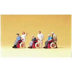 10479 Инвалиды в колясках   - фото 12854