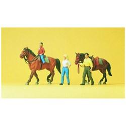 10500 Наездники, лошади   - фото 12860