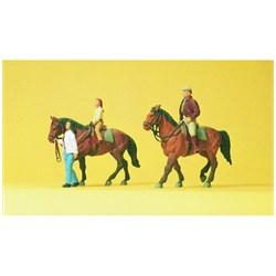 10501 Наездники, лошади - фото 12861
