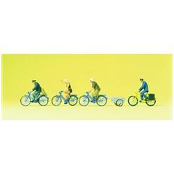 10507 Люди на велосипедах  - фото 12864