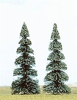 6103 Елки деревья 2шт. 90мм - фото 12894