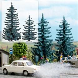 6130 Голубая елка 55,70мм (2шт.) деревья - фото 12902