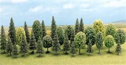 6589 Деревья Смешанный лес 30-60мм 30шт. - фото 12904