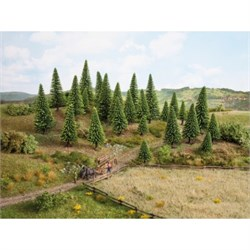 32925 Ели деревья 3,5-9см (10шт) - фото 13037