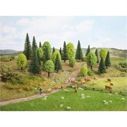 32911 Смешанный лес 3,5-9см (10шт) деревья - фото 13038