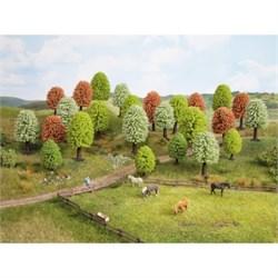 26906 Цветущие деревья 5-9см (10шт) - фото 13068