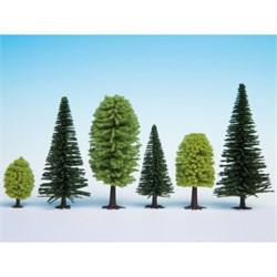 32811 Смешанный лес деревья 35-90мм (25шт.) - фото 13069