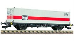 524002 Платформа Lgjs 598 с 40-футовым контейнером «DB», H0, IV, DB - фото 13101