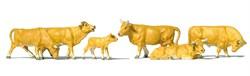 10147 Коровы светло-коричневые - фото 13115
