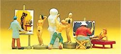 10106 Художники, модели, скульптор - фото 13121