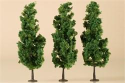 70940 Деревья лиственные (3) темно-зеленые 15 см - фото 13249