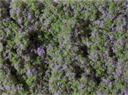 76931 Луг с фиолетовыми цветами (мат 90х150мм) Флок  - фото 13259