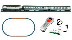 59007 Цифровой стартовый набор PIKO SmartControl light ® «Пассажирский состав с тепловозом BR 218», H0, IV, DB - фото 13321