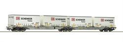 "76916 Двойная платформа + 4 контейнера ""DB Schenker/Transa"" - фото 13426"