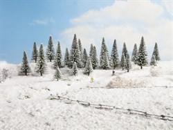26828 Деревья Ели в снегу 5-14см (25шт) - фото 13462