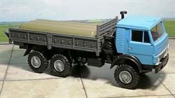 RUSAM-KAMAZ-4310-14-650 Автомобиль КамАЗ 4310 бортовой гружёный (голубой), 1:87, 1979, СССР - фото 13489