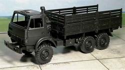 RUSAM-KAMAZ-4310-20-800 Грузовой автомобиль КамАЗ 4310 высокий борт (чёрный), 1:87, 1979, СССР - фото 13494