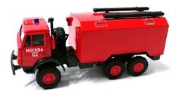 RUSAM-KAMAZ-4310-50-222 Автомобиль пожарной службы КАМАЗ 43102, 1:87, 1979, СССР - фото 13497