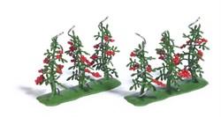1239 Кусты с помидорами (6), готовая модель - фото 13562