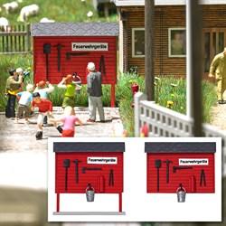 1176 Пожарные щиты ( 2шт ) - фото 13582