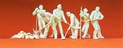 64010 Рабочие, инструменты. 1939-45. 6 фиг. - фото 4159