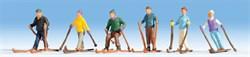 15828 Лыжники  - фото 4278