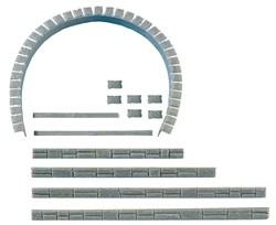 120550 Фасад тоннеля (комплект) - фото 4505