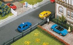 180411 Металлическая ограда с воротами и калиткой (забор) - фото 4693