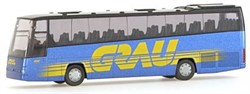 61630 Автобус  VOLVO B12-600 *Grau* (D) - фото 4832